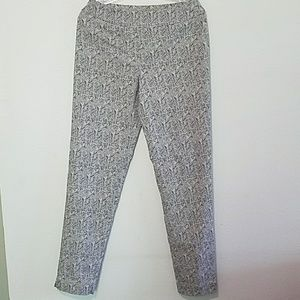 Chevron Stretch Business Casual pants size 6